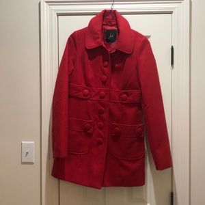 Red JACK by BB DAKOTA coat
